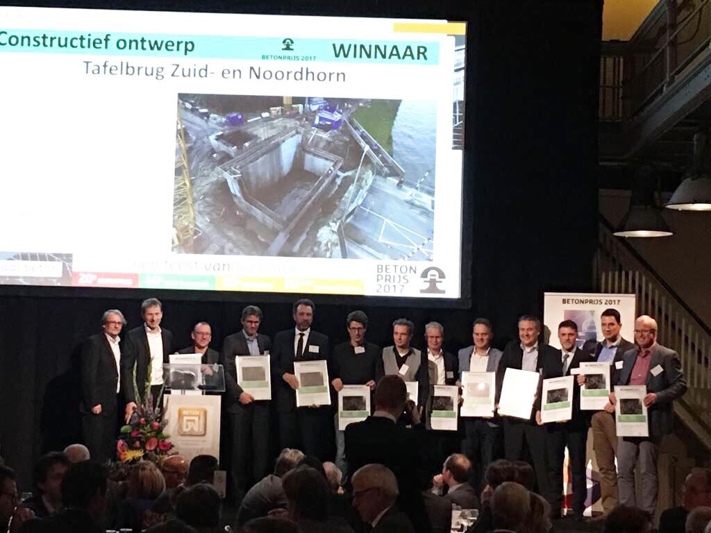 Betonprijs winnaar constructief ontwerp