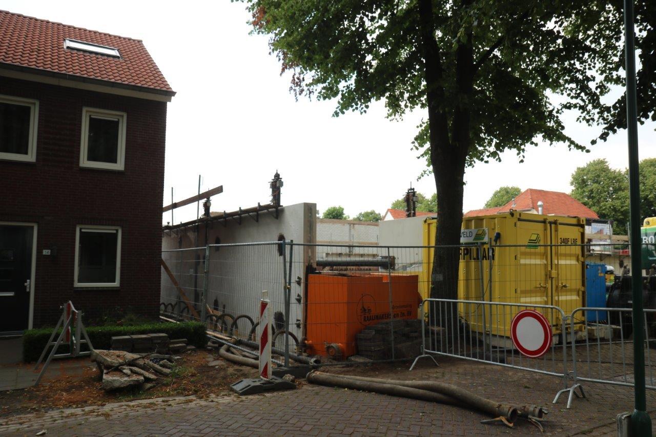 Afzinkkelder in Venhorst