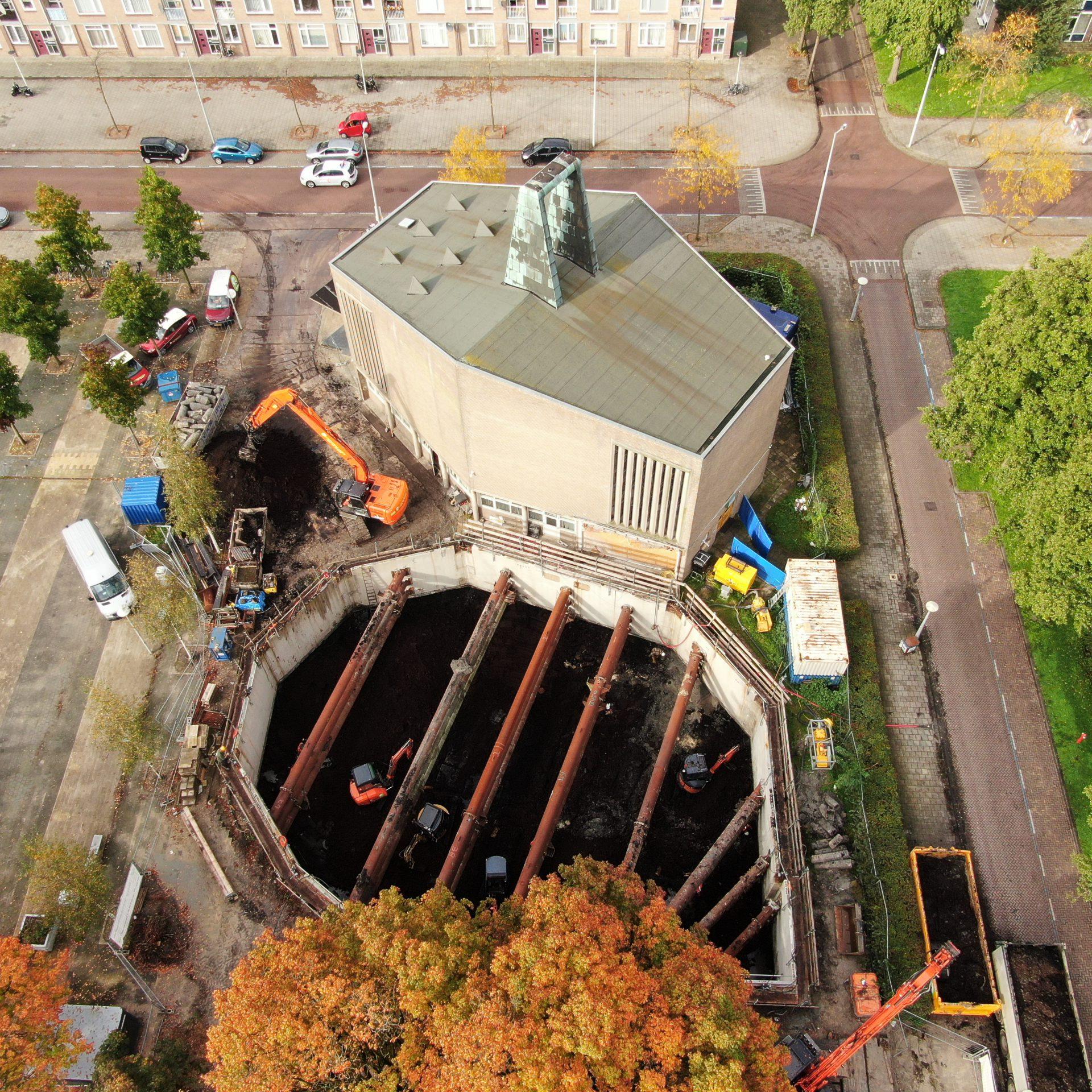 Moskee Amsterdam Afzinkkelder