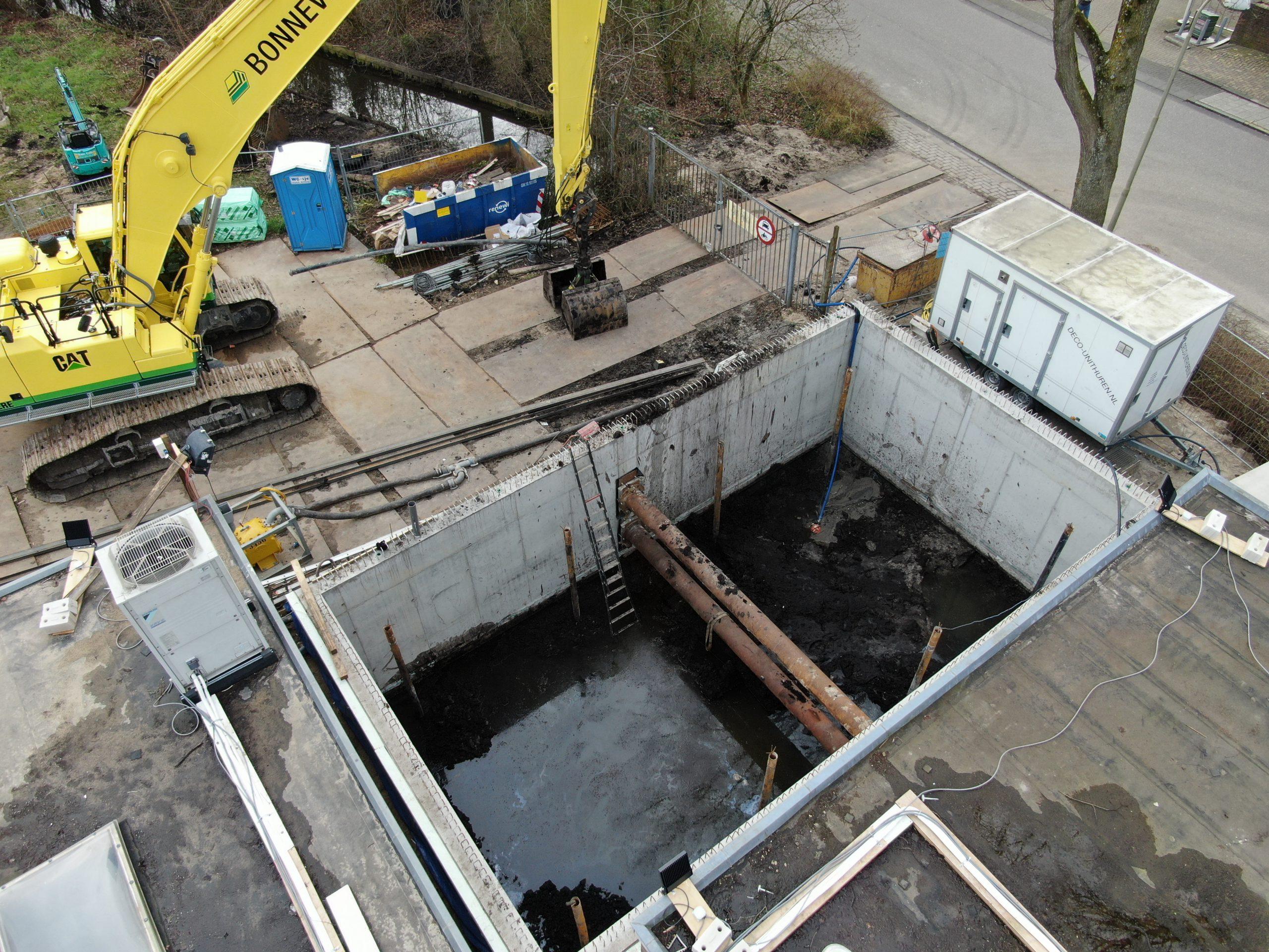 Afzinkkelder MBS Kelderbouw Amstelveen