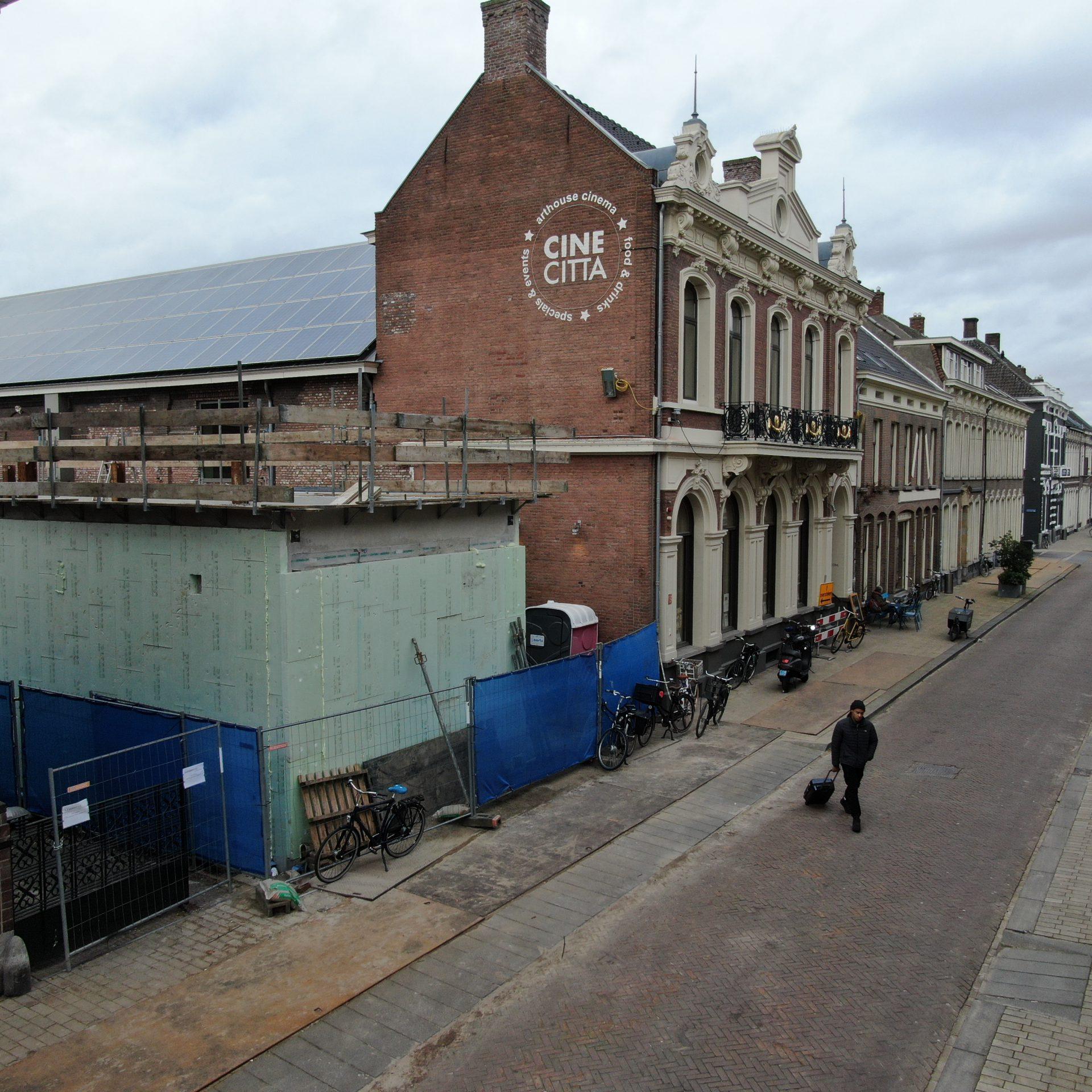 Afzinkkelder MBS Kelderbouw Cinecitta Tilburg
